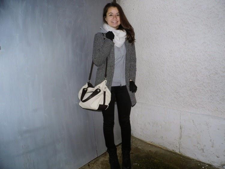 New grey coat