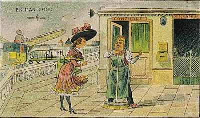 The Year 2000 As Imagined In 1910 by www.KisKut.com