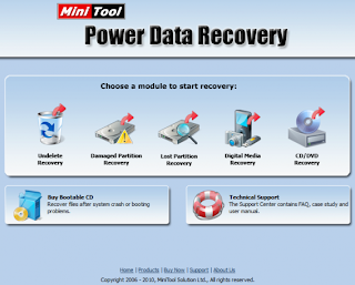 Power Data Recovery 6.6 Free Download