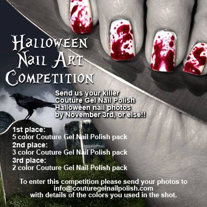 Manic Talons Nail Design Couture Gel Nail Polish Contest Enter Now
