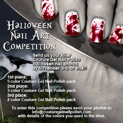 Couture Halloween Nail Art Contest
