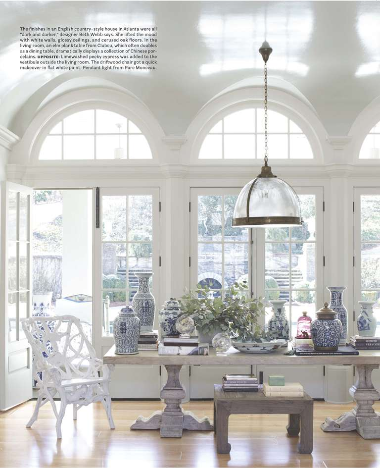 The peak of chic a timeless interior for White dining room decor