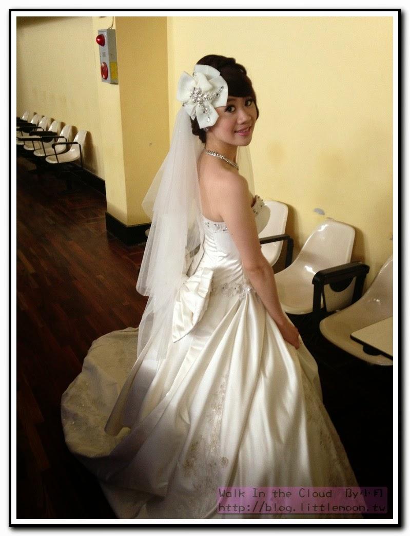 白紗與頭部飾品