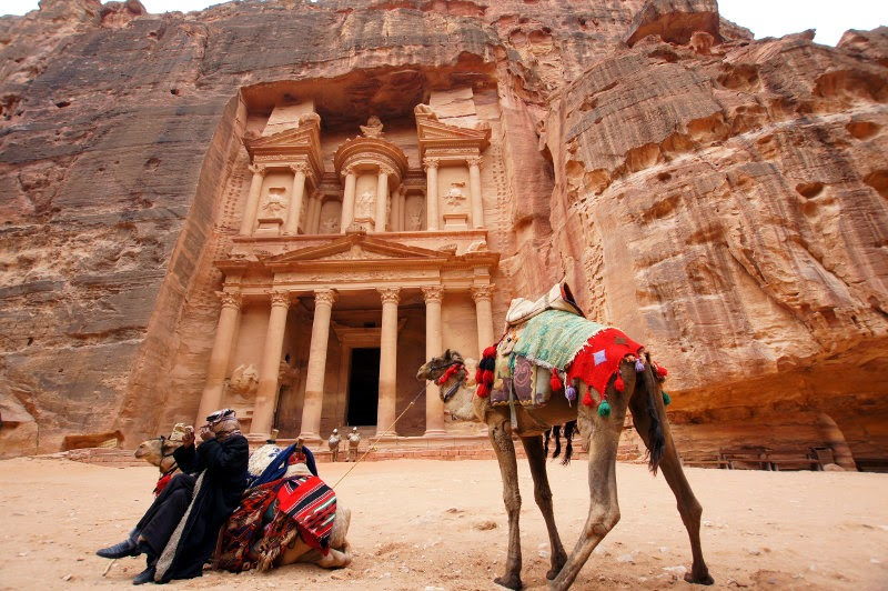Petra en Jordania