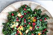Kale & Pomegranate Salad