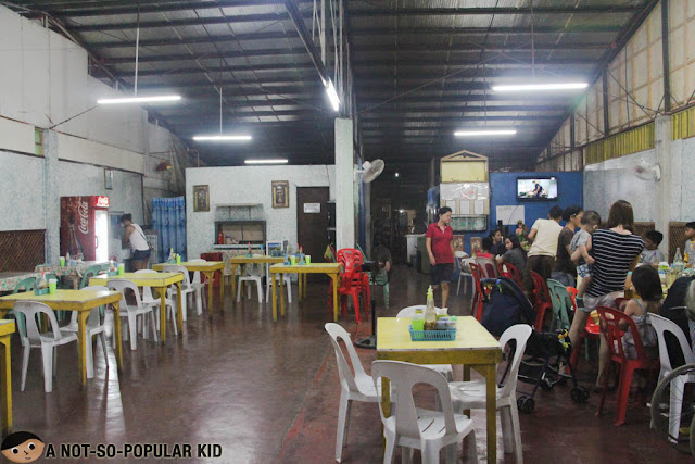 Interior of The Original Nena's Manokan and Seafood House, Bacolod