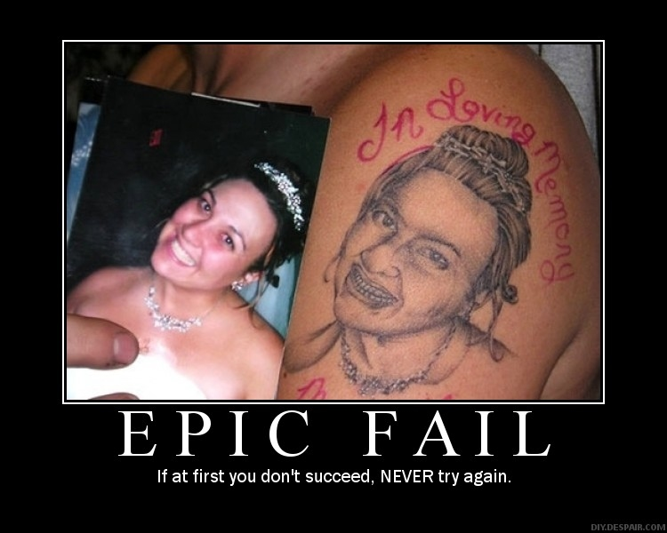 epic fail 