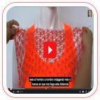 Blusa Espuma de Mar Crochet en Video