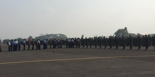 Padamkan kebakaran hutan di Riau, TNI kirim 1.150 prajurit