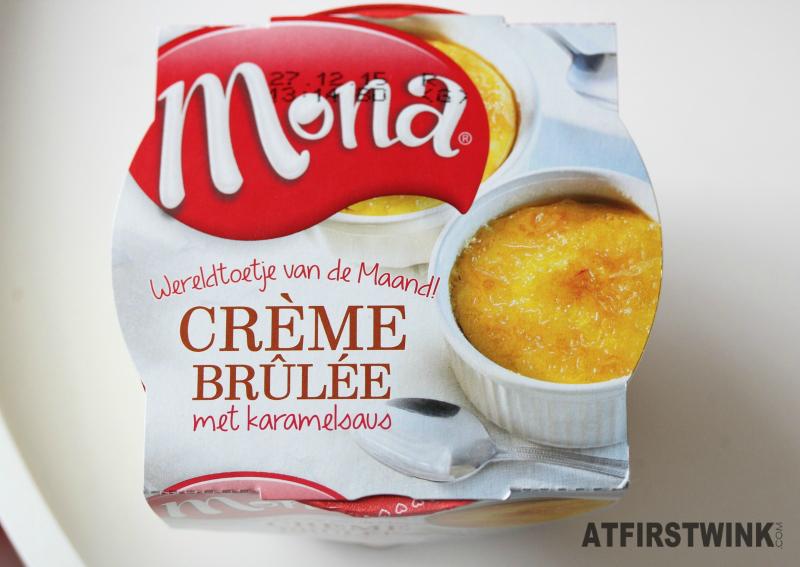 Mona Crème Brûlée met karamelsaus
