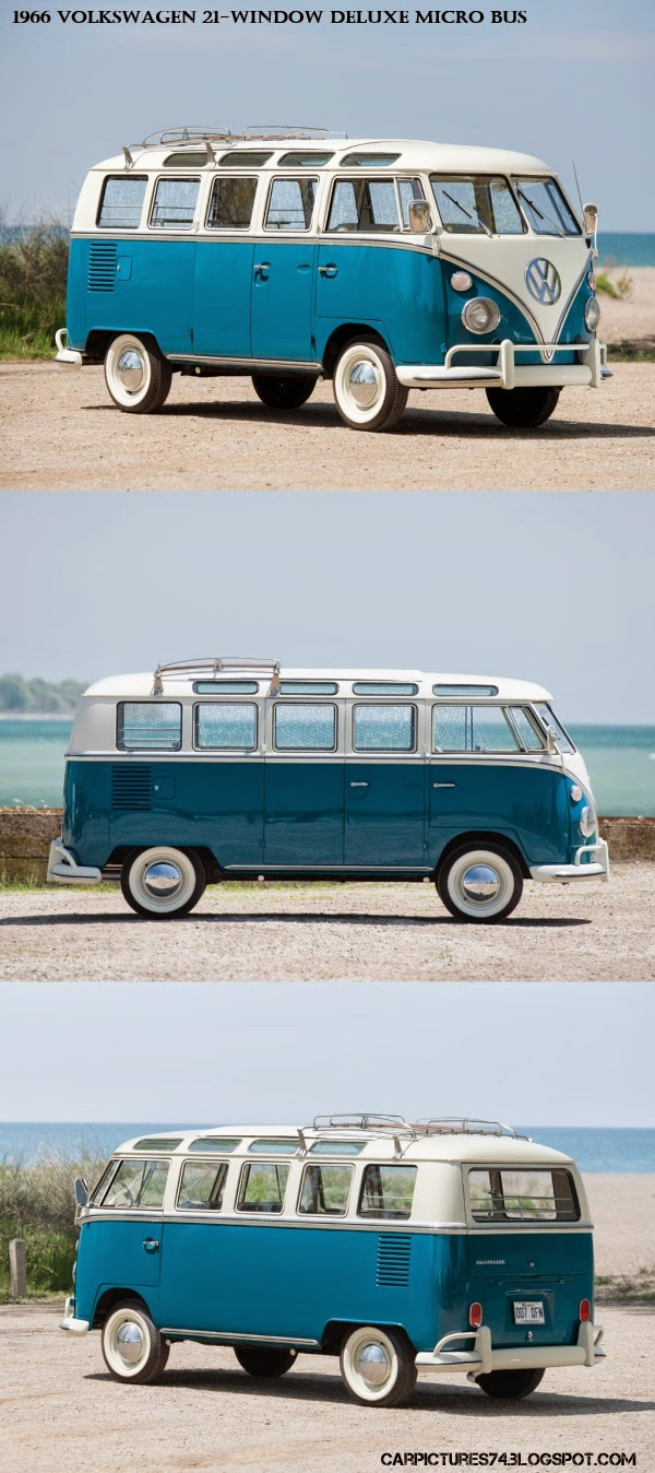 1966 Volkswagen 21-Window Deluxe Micro Bus