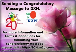 Sending a Congratulatory Message to DXN
