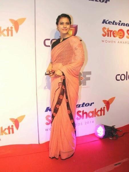 Kajol at Stree Shakti Women Achievers Awards 2014