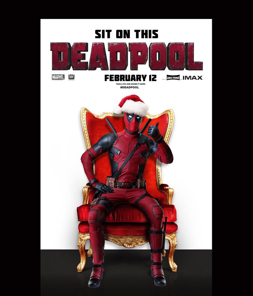 Дэдпул: рождественский постер