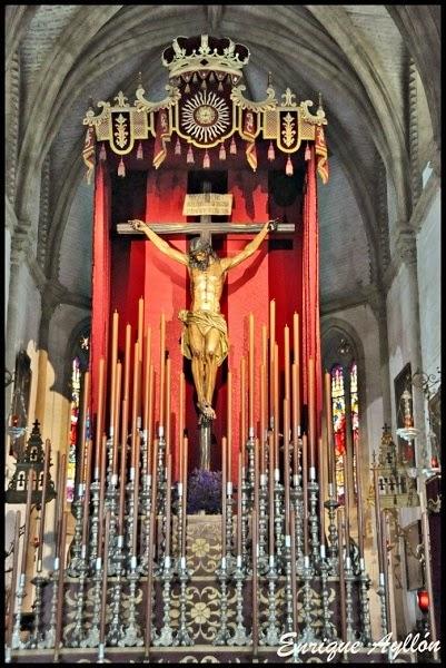 Altar de Quinario Cristo de Las Almas 2014