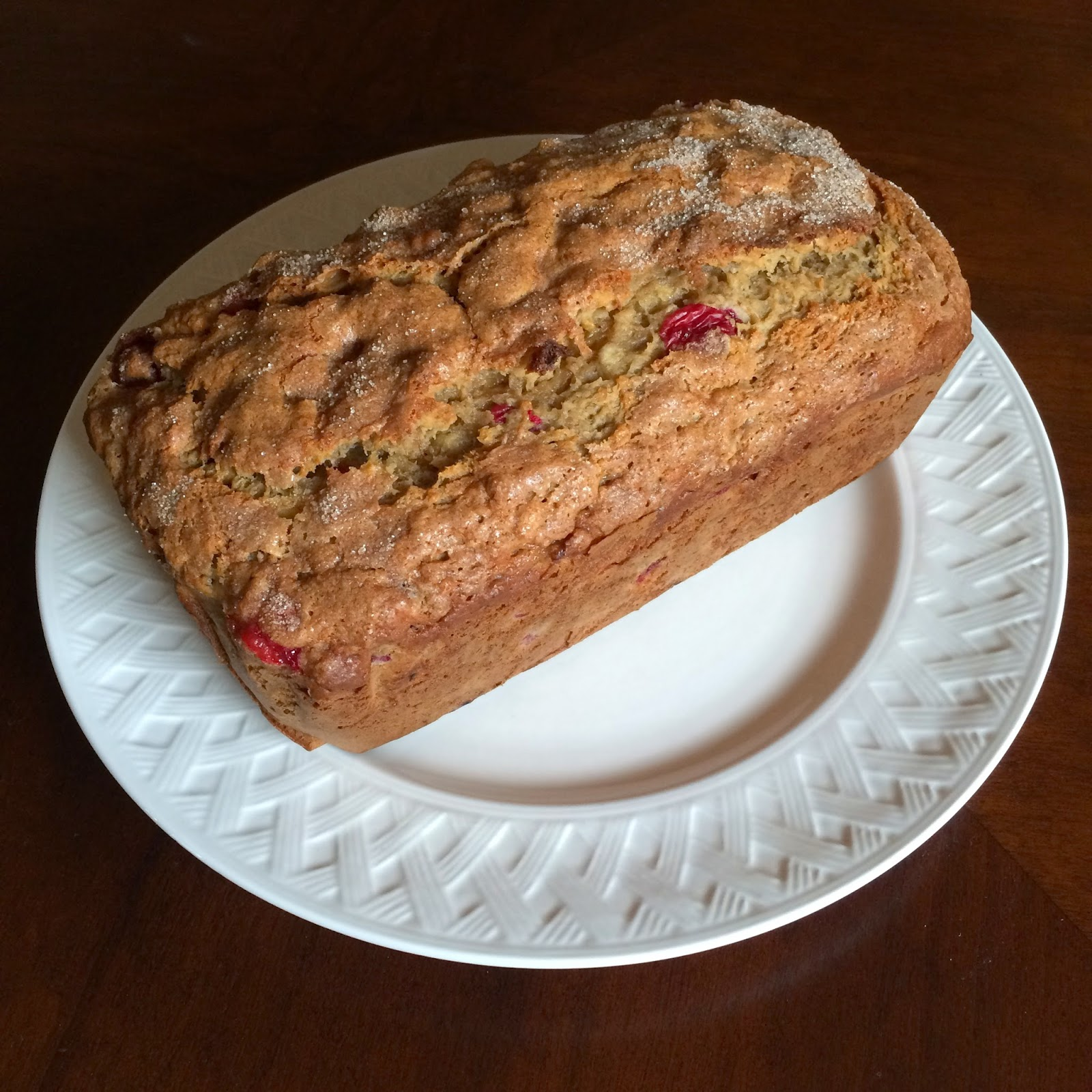 Brown Butter Banana Cranberry Bread, Recipe, Breakfast