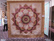 She won third place in one of the recent Keepsake Quilting challenges, .