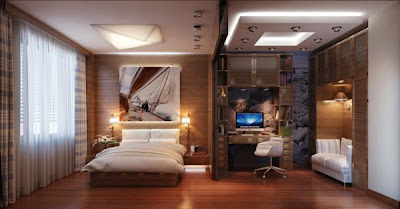 Contemporary, Comfy And Functional Interior Design For Your Bedroom ,Home Interior Design Ideas ,http://homeinteriordesignideas1.blogspot.com/