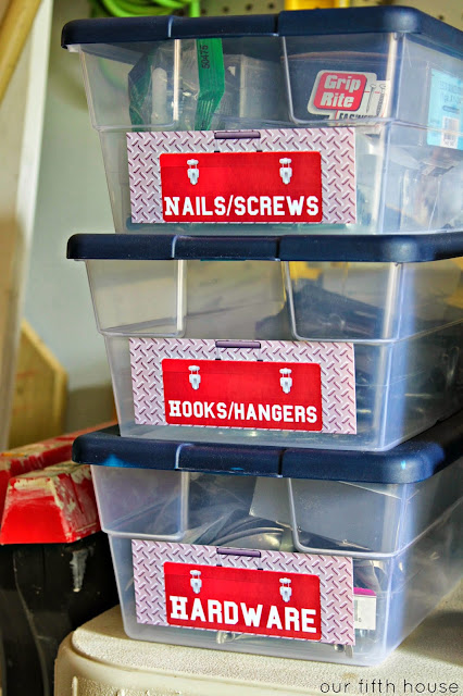 Zink hAppy Garage Organizing Labels