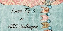 I madeTop 5 at ABC challenge