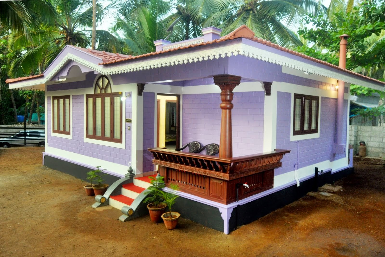 Kerala house designs low cost for Low cost house plans with estimate