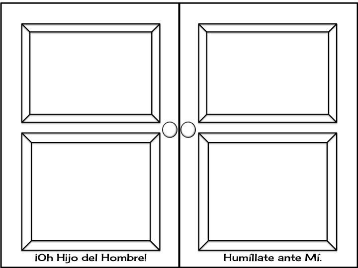 Virtudes para ni os puerta de visita - Pintar cristales de puertas ...