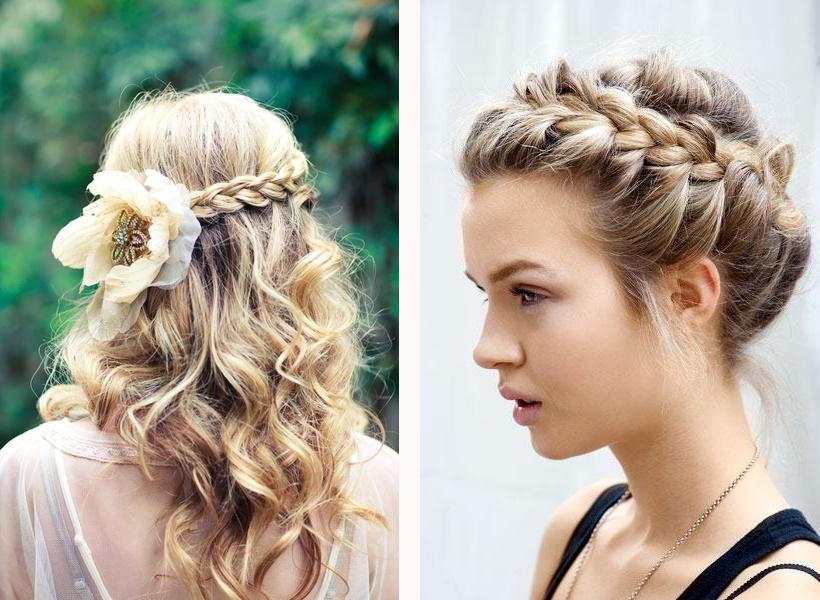 Peinados y maquillaje de moda
