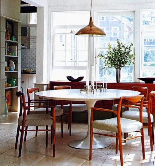 Comedor estilo escandinavo