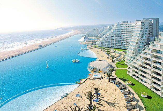 Intensive and immense knowledge - San alfonso del mar swimming pool ...