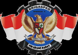 lambang Paskibra Sekolah Bekasi Jawa Barat Nasional Indonesia