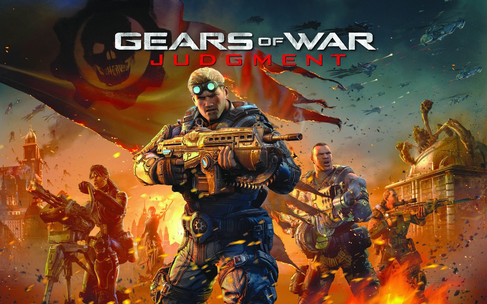 Gears of War HD & Widescreen Wallpaper 0.726938060550152