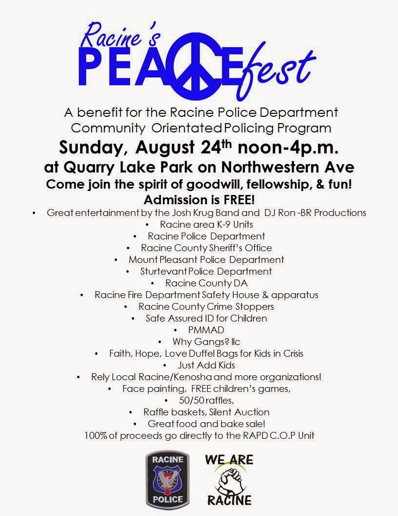 jt irregulars  racine s peacefest