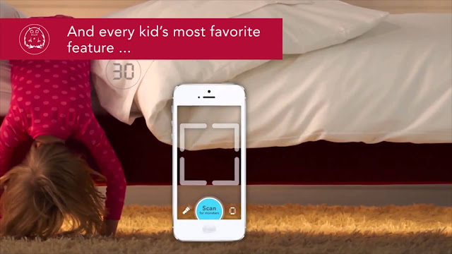 Clever bed for your kids