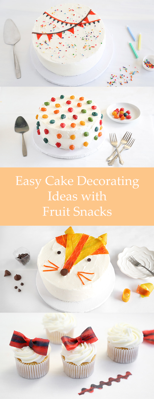 Glitter Frosting Cake Design Ideas