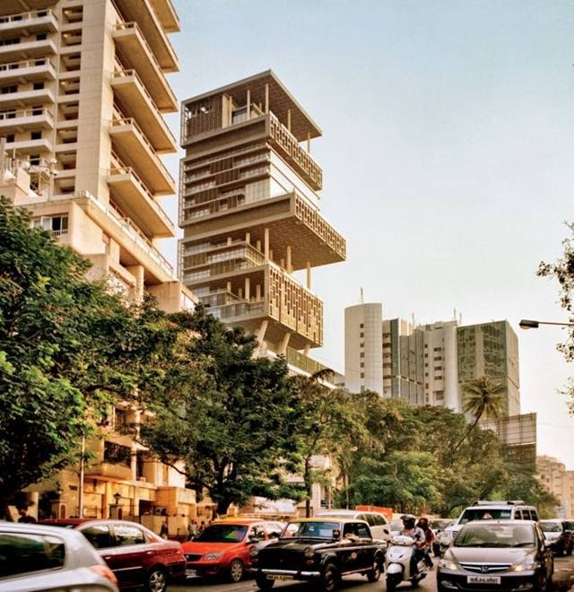 The Most Expensive House In The World...one Billion Dollar House In Mumbai....27 Floors