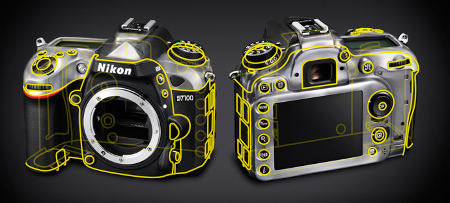 Nikon D7100 LCD Body Shield Digital SLR