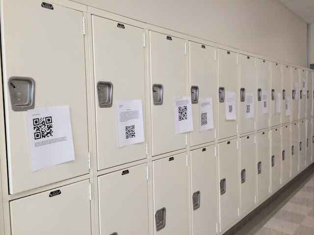 QR code spanish teacher