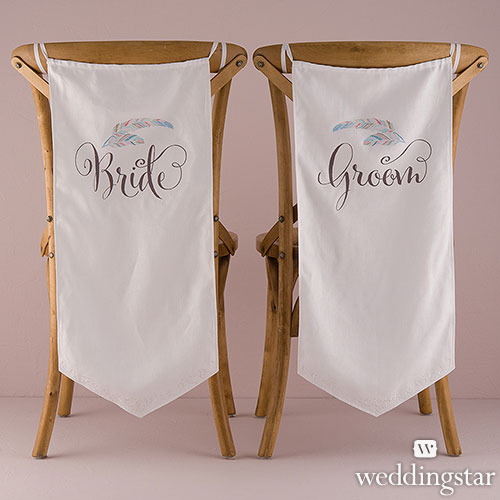 http://www.weddingfavoursaustralia.com.au/products/feather-whimsy-bride-and-groom-wedding-chair-decorations-slash-banner-set
