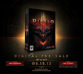 Diablo III release date and digital pre-sale
