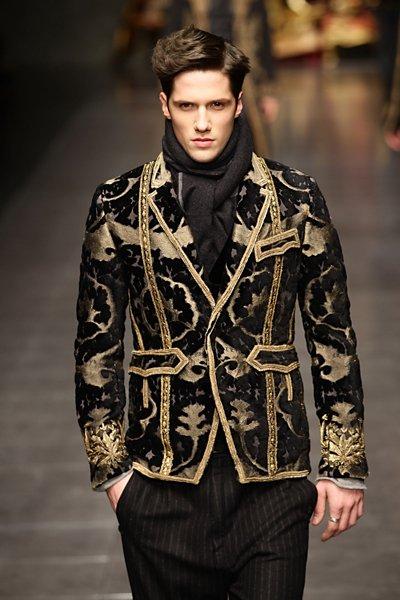 baroque inspired fashion men - photo #39