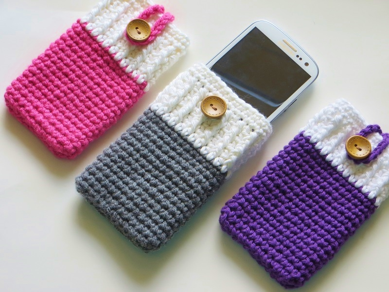 Crochet Designs : ... Case Crochet Pattern, I phone Cozy, Samsung Cozy, Free Crochet Pattern