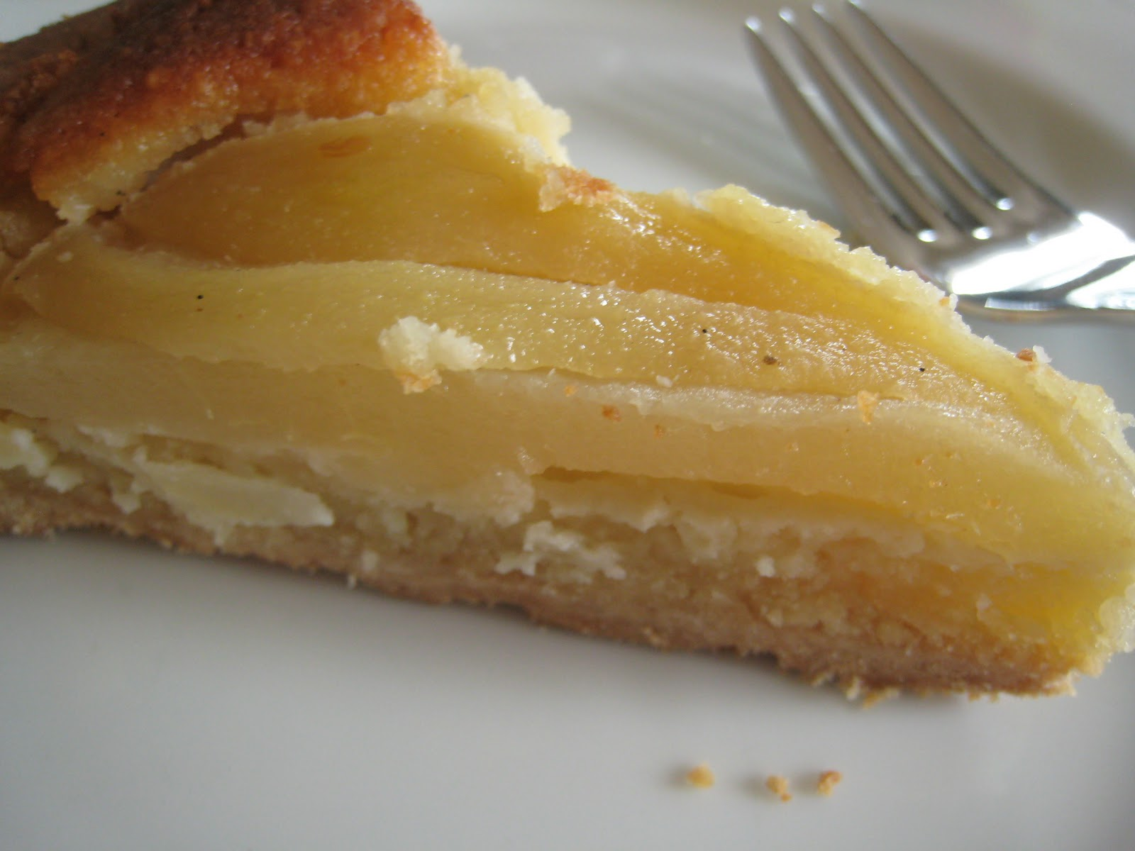 ... Berenbaum's pear tart with almond cream from The Pie and Pastry Bible