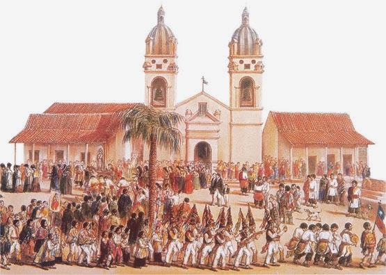 Pequeña historia de la Iglesia en Chile.