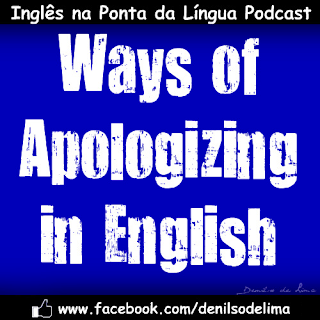 Ways of Apologizing in English