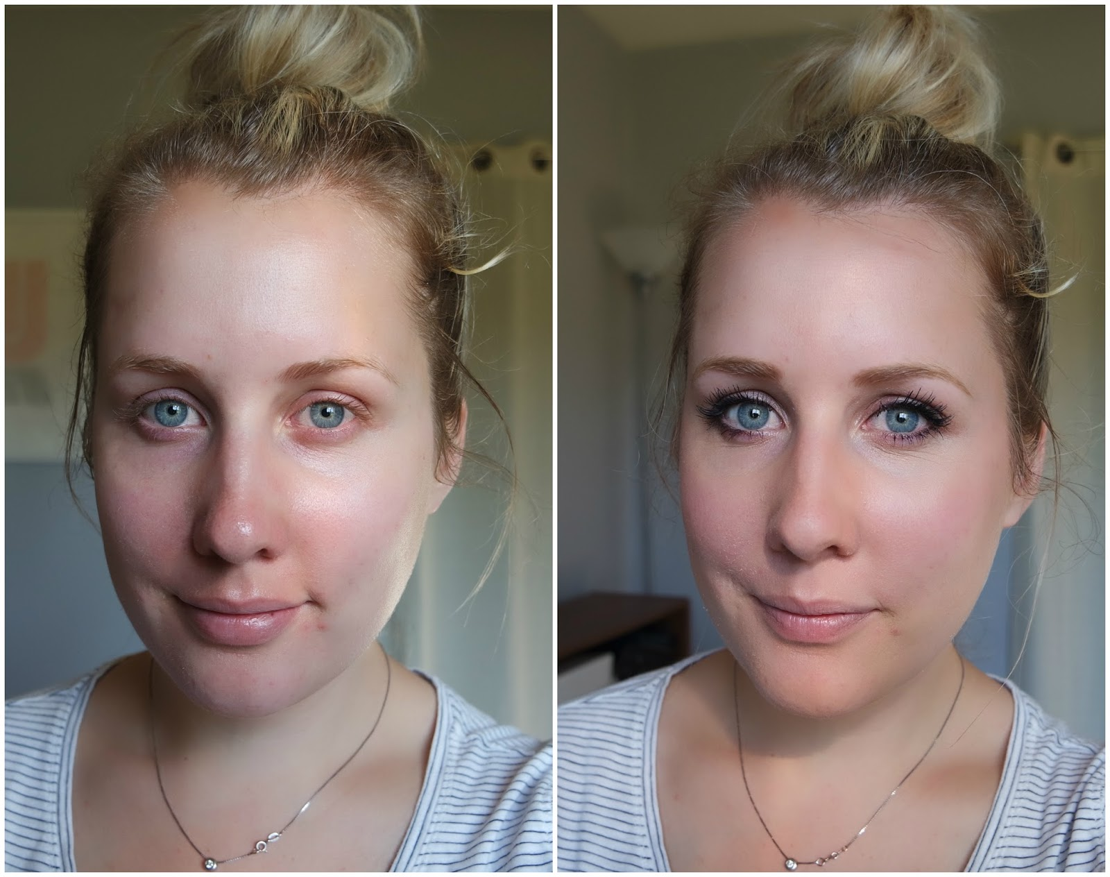 daily make up routine for blonds
