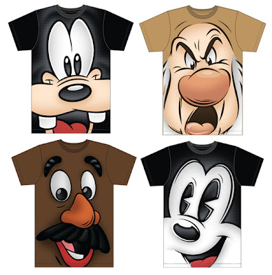 New adult size Disney graphic t-shirts