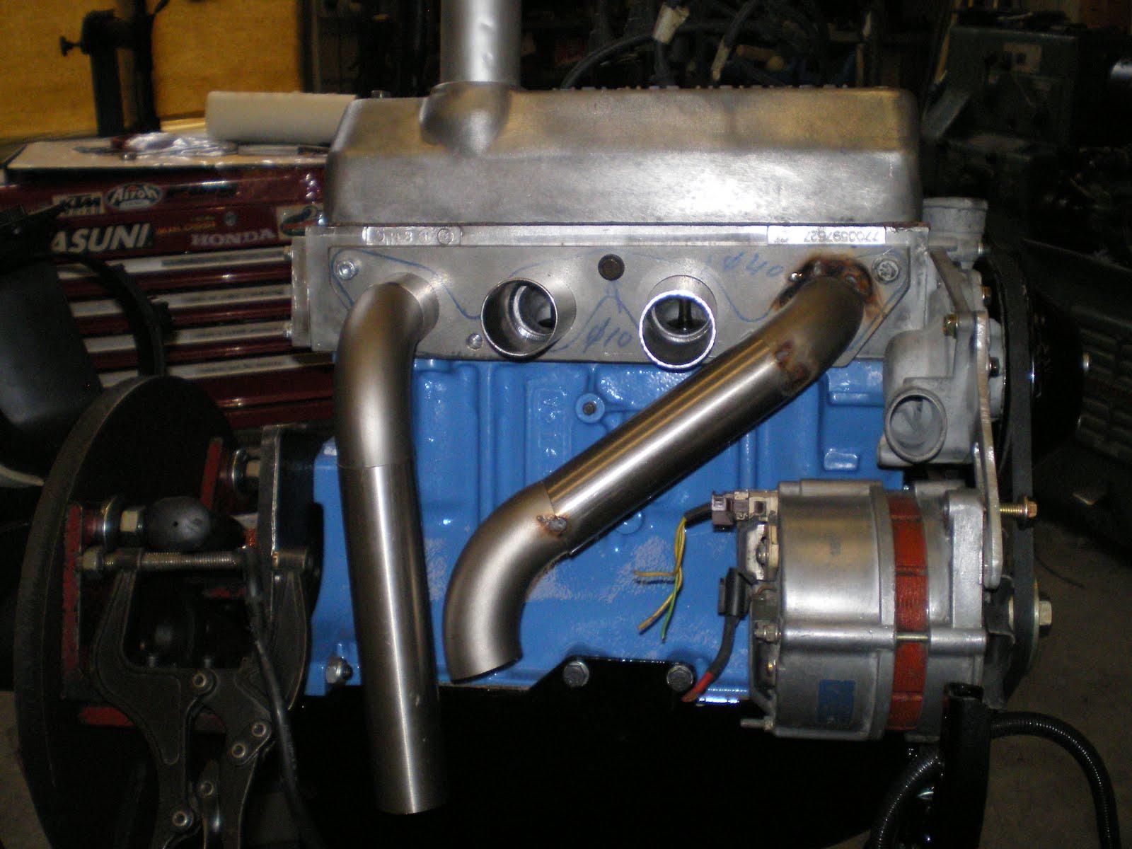 Escape Motor Renault Alpine 840 25 Mecani100