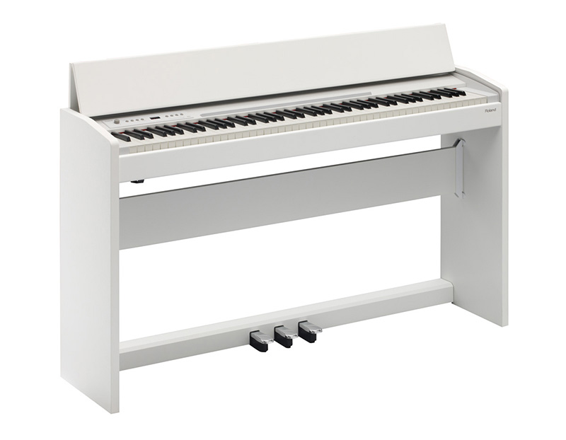 dan piano dien roland f-120 mau trang
