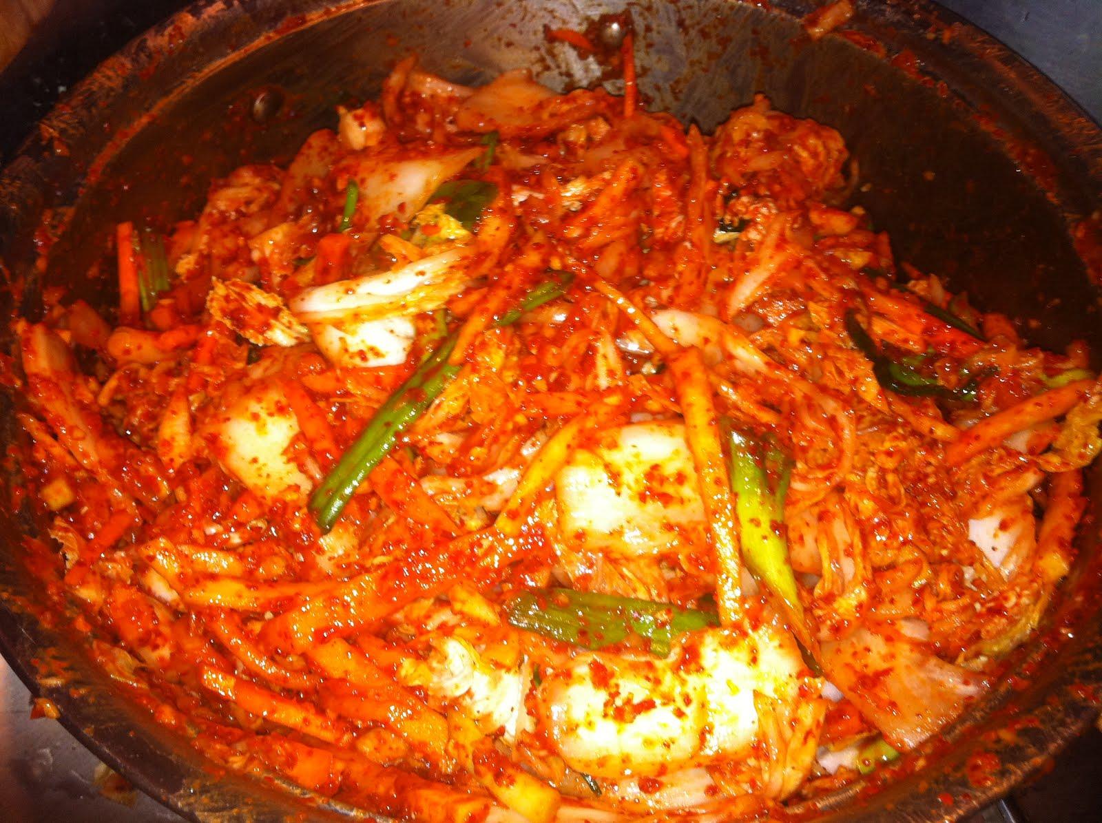 TrucVy-Zoe's Zone: Mak Kimchi - Napa Cabbage Kimchi