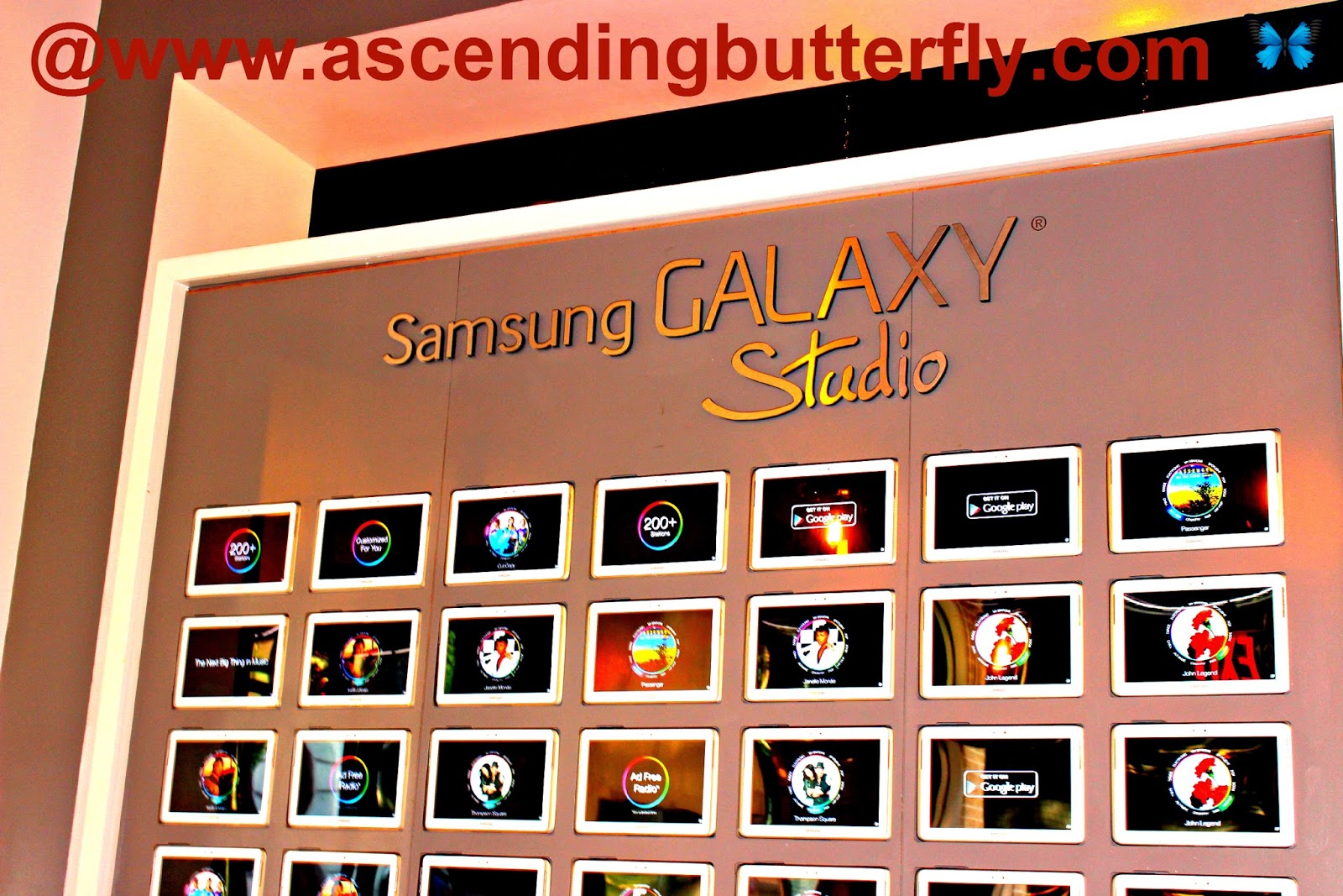 Samsung Galaxy Studio SoHo New York City